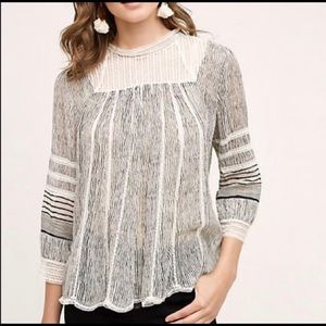 Anthropologie Floreat | Reina Top | Small
